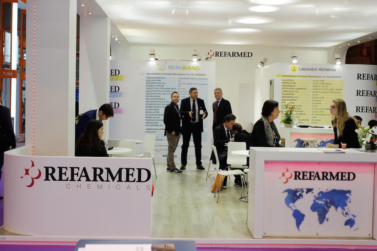 CPHI Madrid 2015 - Farma Industria Ticino